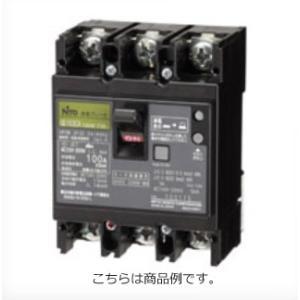 日東工業 GE63C3P60AF30漏電ブレーカー 協約形 GE-C 定格電流60A 2P2E  60AF|sk-r