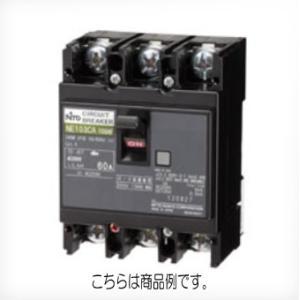 日東工業 NE63C3P60A サーキットブレーカー 協約形 NE-C 極数3P 定格電流60A  60AF|sk-r