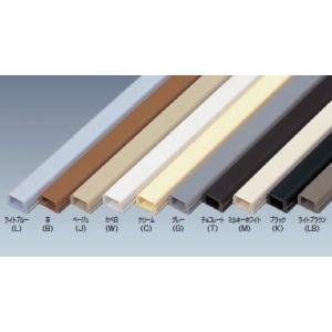 未来工業 PML-1KT テープ付プラモール 1号 1m 黒 10本|sk-r