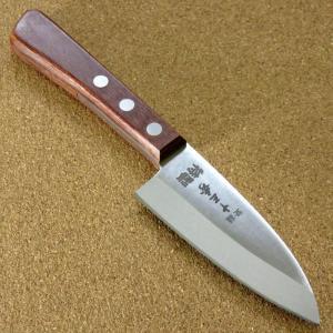 関の刃物 小出刃包丁 9.5cm (95mm) 十三秀 特製 6A モリブデンステンレス 魚の身を細...