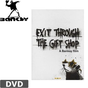BANKSY バンクシー DVD EXIT THROUGH THE GIFT SHOP 北米版 NO...