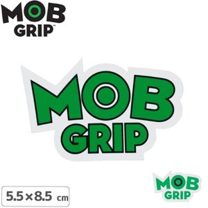 MOB GRIP モブグリップ sticker ステッカー LOGO 2色 5.5cm×8.5cm NO03