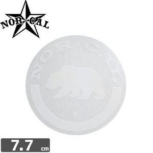 ノーカル NOR CAL ステッカー ROUNDED OUT STICKER 7.7cm x 7.7cm NO26