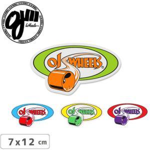 オージェイ OJ3 スケボー ステッカー ROLLING 4色 7cm×12cm NO9