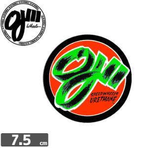 オージェイ OJ3 スケボー ステッカー DECAL STICKER 7.5cm x 7.5cm NO17