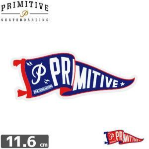 スケボー PRIMITIVE プリミティブ STICKER ステッカー PENNANT 4.7cm×11.6cm NO2