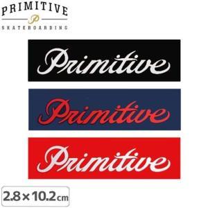 プレミティブ PRIMITIVE ステッカー LOGO 3色 2.8cm×10.2cm NO8