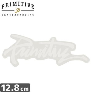 プレミティブ PRIMITIVE ステッカー THRASHED STICKER 5cm×12.8cm NO20