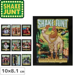 シェークジャント SHAKE JUNT STICKER ステッカー CHICKEN BONE AD 10cm x 8.1cm NO51