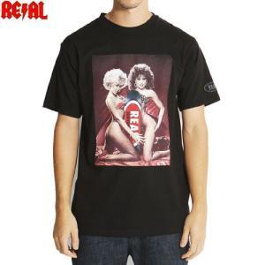 アウトレット メンズ Tシャツ ブランド スケボー REAL リアル TAIL GRAB TEE ブ...