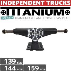 INDEPENDENT トラック STAGE11 FORGED TITANIUM TRUCKS BLACK 139/144 STANDARD NO90