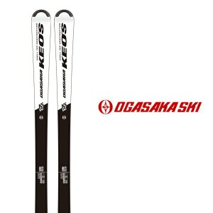 オガサカ スキー板 OGASAKA【2019-20モデル】KEO'S KS-GZ/WT + チロリア...