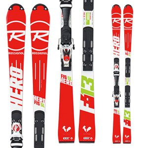 14-15  ロシニョール ROSSIGNOL HERO FIS SL R20 WC  AXIAL3 150 MFX WHITE RED DIN 7-15  (金具付き)|ski-exciting