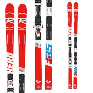 14-15  ロシニョール ROSSIGNOL  HERO FIS GS R20 Racing AXIAL3 120 MFX WHITE RED (DIN:3.5-12) (金具付き) 182cm|ski-exciting