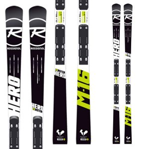 14-15  ロシニョール ROSSIGNOL HERO MASTER R20 WC  AXIAL3 120 MFX WHITE RED (DIN:3.5-12) (金具付き) 170cm|ski-exciting