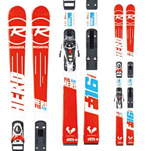 14-15  ロシニョール ROSSIGNOL HERO FIS GS PRO R20 PRO  AXIUM JR 100 B73 WHITE RED (DIN:3-10) (金具付き) 158cm|ski-exciting