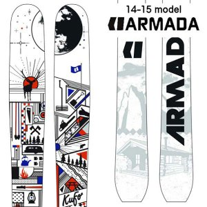 14-15 アルマダ KUFO クフ  (板のみ)|ski-exciting