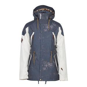 14-15  アルマダ ARMADA レディース 上下セット Yosemite Insulated Jacket Washed-Blue  Jarvis Pant khaki  上下XSサイズ(インポートサイズ)|ski-exciting