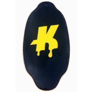 フラットスキム ランド Kayotics カヨティックス Classic Series Dripped yellow イエロー Size:107cm×53cm|skimpeace-store
