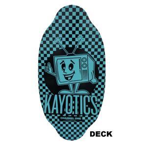 フラットスキム ランド Kayotics カヨティックス 2018「Channel-One」LIMTED EDTION「TUNDE OUT」 Size:99.5cm×49.5cm デッキテープ付|skimpeace-store|03