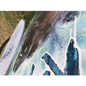 フラットスキム ランド Kayotics カヨティックス Pro Series2018「URSUS」 Size:104cm×52cm|skimpeace-store|05