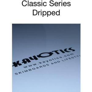 フラットスキム ランド Kayotics カヨティックス Classic Series Dripped ホワイト Size:107cm×53cm|skimpeace-store|03