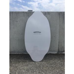 フラットスキム ランド Kayotics カヨティックス Classic Series Dripped ホワイト Size:107cm×53cm|skimpeace-store|04