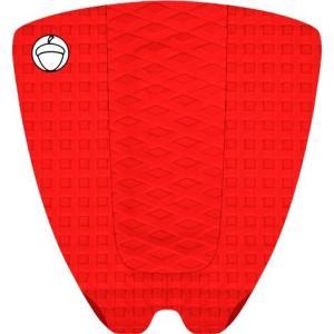 NUTS TRACTION TAILPAD ナッツ トラクション テールパット 単色 RED レッド|skimpeace-store