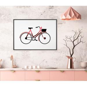 3D アートフレーム ‐自転車(BICYCLE) (サイズ:A2)ハンドメイド プレゼント 贈り物 ...