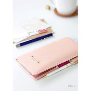 【ICONIC】パスポートウォレット・アンチスキミング機能付(色:PINK ピンク)オシャレ 可愛い...