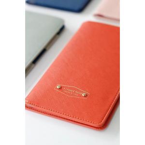 【ICONIC】パスポートウォレット・アンチスキミング機能付(色:Vivid orange ビビッド...