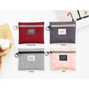 ICONIC Basic Pouch Sサイズ  4種類小物入れ インナーバッグ かわいい プレゼント お出かけ 女の子 人気 可愛い スリム シンプル|skipskip