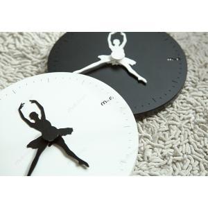 【HANDMADE】壁掛け時計 ballerina(バレリーナ)ハンドメイド プレゼント 贈り物 ク...