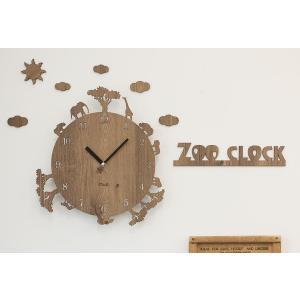 壁掛け 時計 ZOO CLOCKハンドメイド プレゼント 贈り物 クロック 新築 お祝い ギフト お...