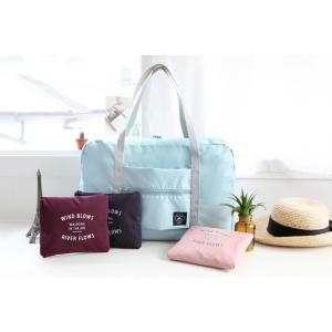 ICONIC Folding Carry Bag  フォルディングキャリアバック-収納ポーチ付き   4種類 旅行 防水 ショルダー レディースバッグ 温泉 日帰り ゴルフ 海外旅|skipskip