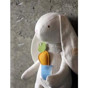 【STOLLEEN】ベビーぬいぐるみ★ニンジン好きウサギちゃん(rabbit)【単品】出産お祝い プ...