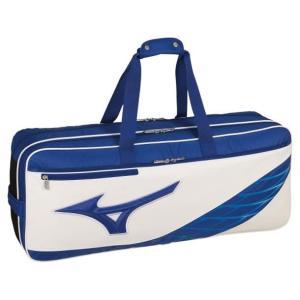 バドミントン テニス  ミズノ  トーナメントバッグ  ブルー×ホワイト   73JD9512 27