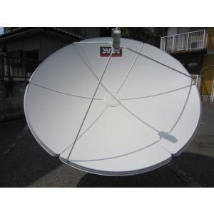 ●海外衛星TV Cバンド180CMアンテナ受信用6点セット●受信無料、チャンネル沢山!|sktnm