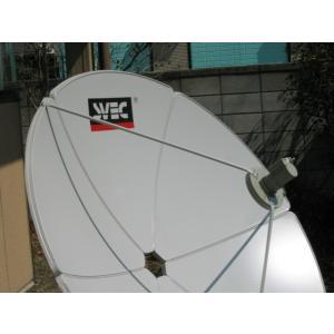 ●海外衛星TV Cバンド150CMアンテナ受信用6点セット●受信無料、おもしろいチャンネル沢山!|sktnm