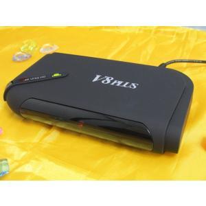 【在庫あり】V8 PLUS アンドロイドテレビボックス TV BOXクアッドコアS812 2G+8G H265 4K 3D WiFi、入手困難アプリ多数導入済み、テレビ、ドラマ、映画無料|sktnm
