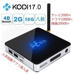 日本初!最強AE254アンドロイドテレビボックスTV BOX 入手困難アプリ導入済4K2K、Full HD、H.265 3D WiFi対応 無料でTV、ドラマ、映画観放題!|sktnm