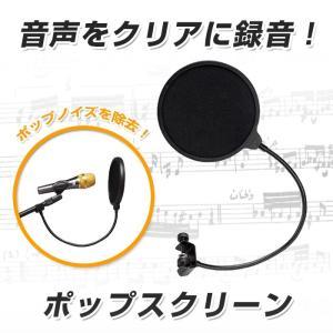 ポップスクリーン フレキシブルネック仕様 CD・DVD・楽器 楽器 パーツ・アクセサリー マイク その他|sky-group|02