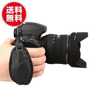一眼レフカメラ用ハンドストラップ グリップストラップ カメラグリップ ベルト手首を完全固定