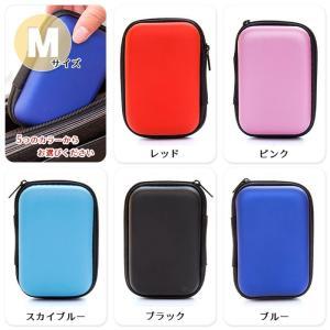 イヤフォン 収納 ケース ガジェット マルチ ポーチ 小物入れ 旅行 整理 ケーブル コード iPod SSD USB メモリー カード イヤホン ケース セミハード|sky-group|05