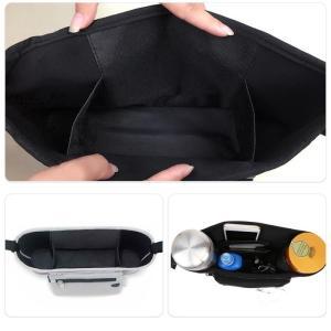 ベビーカー バッグ ベビー ポケット バギー おでかけポケット 赤ちゃん 収納 袋 便利 ポーチ ドリンクホルダー バッグインバッグ シンプル 多機能 小物入れ|sky-group|05