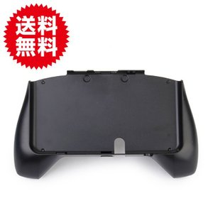 NEW 3DS用 コントローラ ハンドルホルダー ハンドグリップ 保護 黒 コントローラハンドル 背面ブラケット 簡単 新しいニンテンドー3DSコンソール sky-group