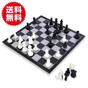 25cm チェス セット マグネチック マグネット式 磁石 本格サイズ チェス盤 ボードゲーム 持ち運び 便利 パーティー sky-group