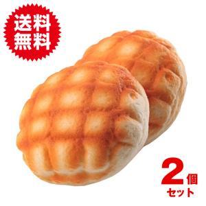 2個セット 香り付き メロンパン 携帯 ストラップ 低反発 スクイーズ 手枕 食品 サンプル 食玩 小道具 おもちゃ|sky-group