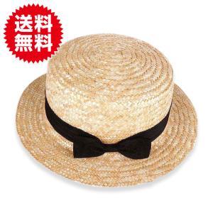 リボン付 麦わら帽子 キッズ ハット カンカン帽 ストローハット 子ども用 UVカット 日除け 熱中症対策 春 夏 sky-group