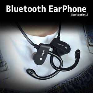 【メール便 送料無料】Bluetooth イヤフォン イヤホン ブルートゥース ワイヤレス スポーツ イヤホン マイク iphone 選べる4色|sky-sky